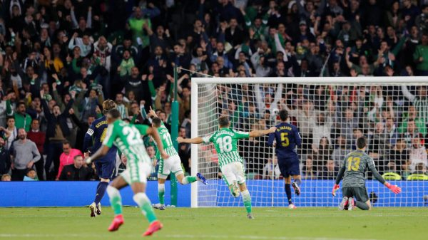 Betis- Madrid, gol de Tello.