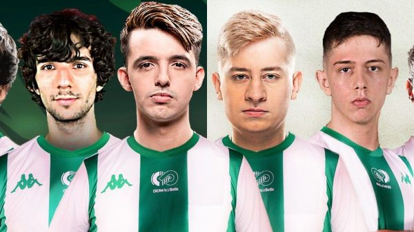 Plantilla de League of Legends del Cream Real Betis (Via: @CreamRealBetis)